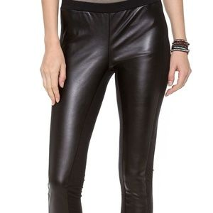 625b001d8bc10c Splendid Pants | Womens Downtown Faux Leather Leggings M | Poshmark
